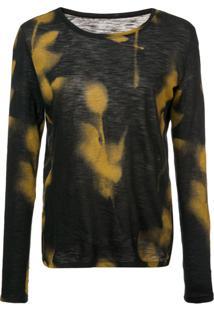 Proenza Schouler Blusa De Jersey Estampada - Amarelo