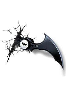 Luminária 3D Light Fx Dc Comics Batarang