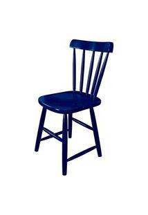 Cadeira Skand Assento Escavado Cor Azul - 33365 Azul