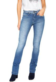 ... Calça Jeans Calvin Klein Jeans Bootcut High Azul 2fca6482a60