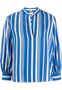 Chinti & Parker Blusa Listrada - Azul