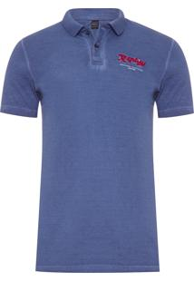 Polo Masculina Replay Original Clothing - Azul