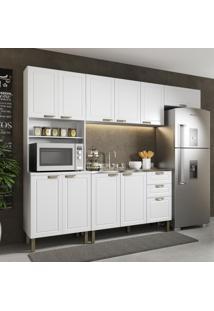 Cozinha Completa 4 Peças Americana Multimóveis 5695 Branco