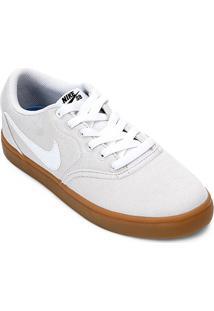 57f9b71f22 ... Tênis Nike Wmns Sb Check Solar Cvs P Feminino - Feminino-Cinza+Branco