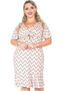 Vestido Dream Bege Plus Size