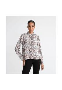 Camisa Manga Longa Estampada | Cortelle | Multicores | Gg