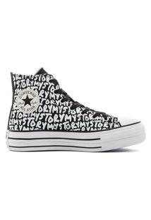Tênis Converse Chuck Taylor All Star Lift Hi My Story Preto/Amendoa Ct16460001.34