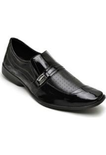 Sapato Social Dexshoes Masculino - Masculino-Preto