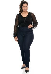 Calça Legging Plus Size Confort - Tricae