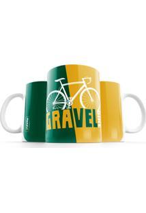 Caneca Punnto Gravel Bike - Verde - Dafiti