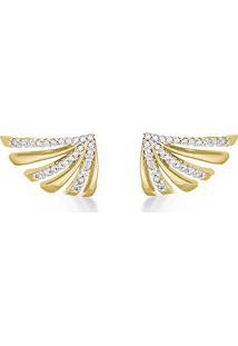 48b8865fb9d Brinco Diamante Ouro Amarelo feminino