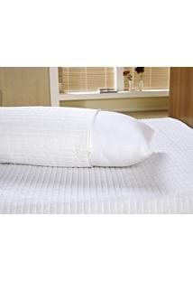 Capa Para Travesseiro Vilela Enxovais Abraçadinho Branco