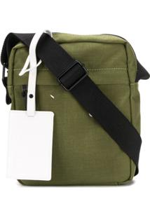 Maison Margiela Stitched Logo Messenger Bag - Verde