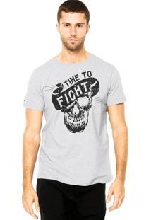 Camiseta Pretorian Skull Cinza