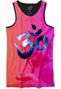 ... Camiseta Regata Long Beach Psicodélica Ohm Sublimada Rosa b900d49742d