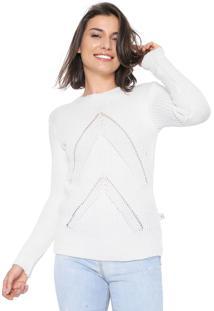 Suéter Mercatto Tricot Color Off-White