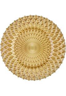 Sousplat Daly- Dourado- 4Xø34,5Cmricaelle