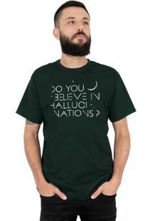 Camiseta 182Life Hallucinations Musgo
