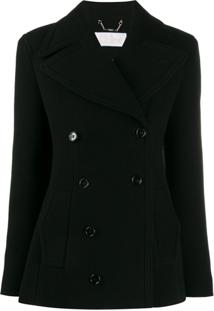 Chloé Double-Breasted Jacket - Preto
