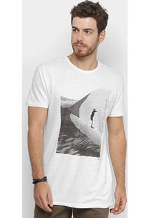 Camiseta Forum Estampada Masculina - Masculino-Off White