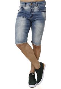Bermuda Jeans Masculina - Masculino