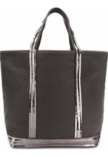 Vanessa Bruno Small Shopper Tote - Cinza