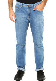 Calça Jeans Mcd Slim Estonada Azul