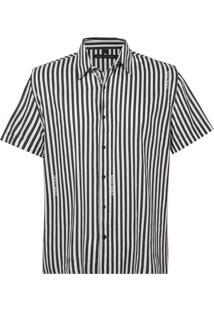 Camisa John John Striped Listrado Masculina (Listrado, M)