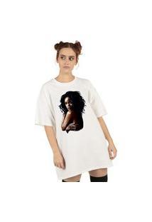 Blusa Skull Rihanna Nude Branca