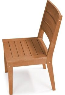 Cadeira Fortaleza Sem Braco Cor Stain Jatoba