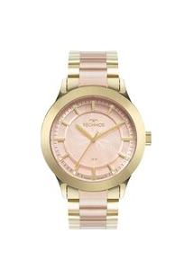 Relógio Technos Feminino Classic Analógico Dourado 2036Mmy1T