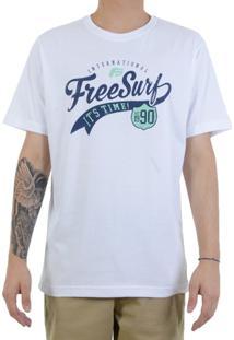Camiseta Freesurf Old Written Est 90 - Masculino
