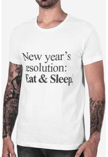 Camiseta New Years Resolution Branca 102522
