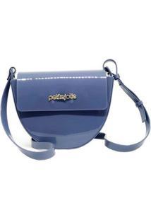 Bolsa Petite Jolie Pj4499 Crush Feminina - Feminino-Azul