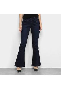 Calça Jeans Hering Flare Feminina - Feminino