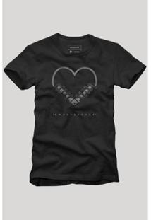 Camiseta Reserva Amortecedor Masculina - Masculino-Preto