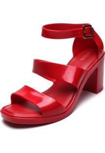 Sandália Melissa Model Vermelha