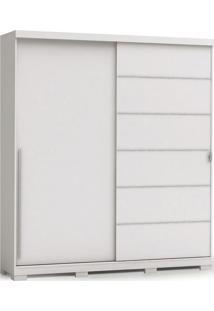 Guarda-Roupa B572 2 Portas De Correr E 3 Gavetas Branco Kappesberg - Branco - Dafiti