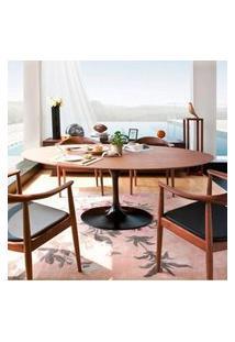 Mesa Jantar Oval Saarinen Madeira 160X90X75