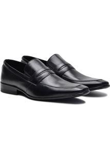 Sapato Social Couro Pórtice Recorte Masculino - Masculino