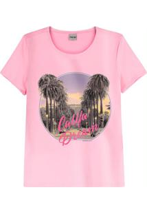 Blusa Rosa Califórnia Dream