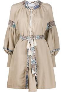 Forte Dei Marmi Couture Vestido Túnica - Neutro