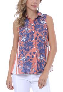 Camisa Energia Fashion Garden Estampa Floral