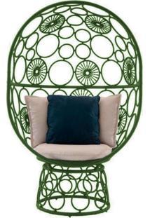 Cadeira De Corda Pina Verde - Incolor - Dafiti