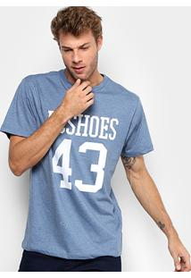 Camiseta Dc Shoes Number Tall Fit Masculina - Masculino