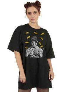Camiseta Tupac Yellow Feminina - Feminino
