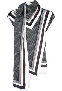 Proenza Schouler Blusa Assimétrica Sem Mangas - Preto
