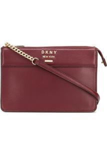 Dkny Crossbody Bag - Vermelho