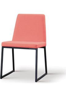 Cadeira Graty Coral Base Preta - 55863 Sun House