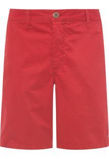 Bermuda Masculina New Color - Vermelho